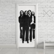 imagem do Adesivo Para Porta Beatles