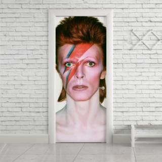 Adesivo Para Porta David Bowie