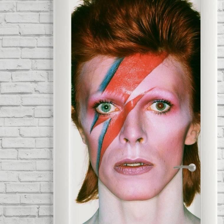 Adesivo Para Porta David Bowie imagem 2