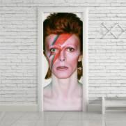 imagem do Adesivo Para Porta David Bowie