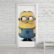 imagem do Adesivo Para Porta Minions