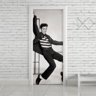 Adesivo Para Porta Elvis Presley