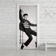 imagem do Adesivo Para Porta Elvis Presley