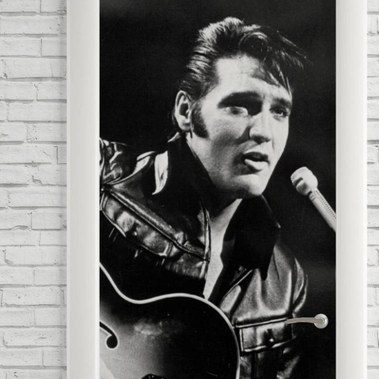 Adesivo Para Porta Elvis  imagem 2
