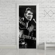 imagem do Adesivo Para Porta Elvis