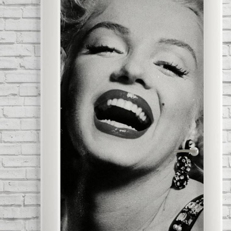 Adesivo Para Porta Marilyn Monroe imagem 2