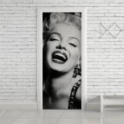 imagem do Adesivo Para Porta Marilyn Monroe