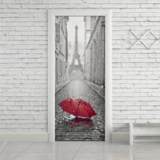 Adesivo Para Porta Paris