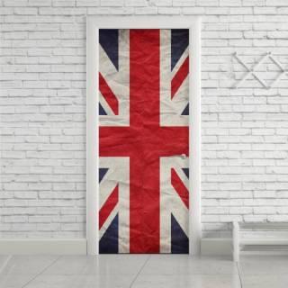 Adesivo Para Porta Bandeira da Inglaterra