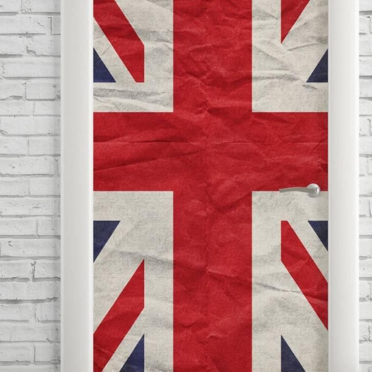 Adesivo Para Porta Bandeira da Inglaterra imagem 2