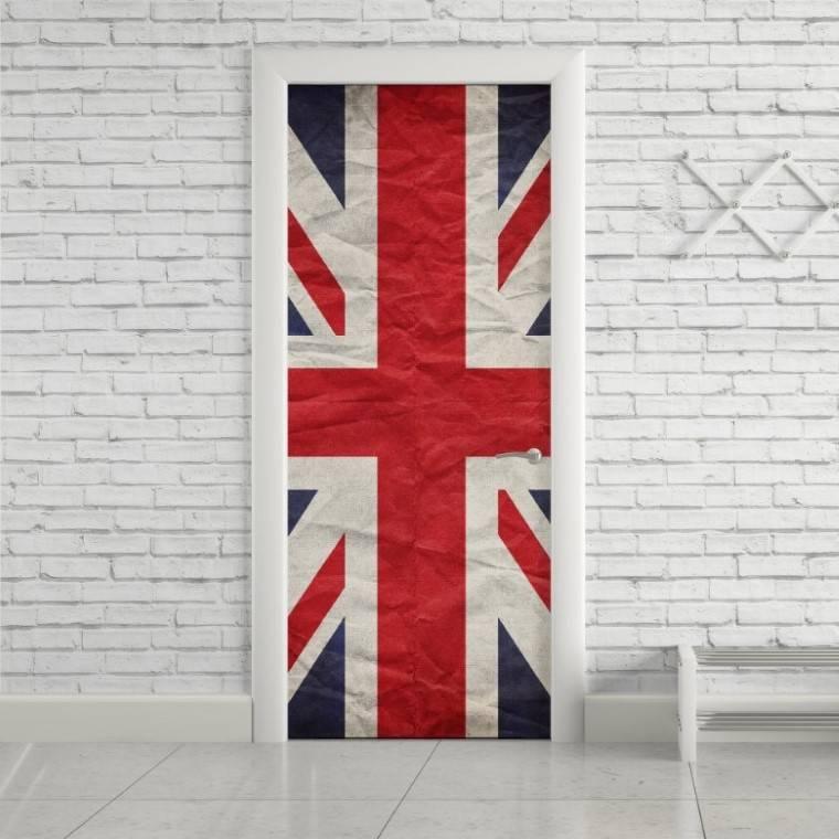 Adesivo Para Porta Bandeira da Inglaterra imagem 1