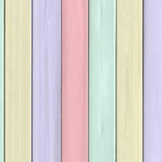 Papel de Parede Adesivo Madeira Colorida /Rolo