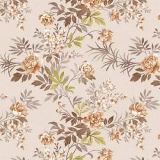 Papel de Parede Floral Marrom | Adesivo Vinílico
