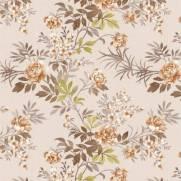 imagem do Papel de Parede Floral Marrom | Adesivo Vinílico