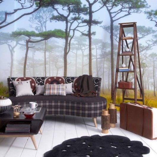 Painel Fotográfico Natureza Bosque / m² imagem 2
