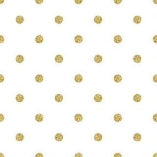 Papel de Parede Adesivo Poá Dourado /Rolo