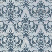 imagem do Papel de Parede Arabesco Azul Claro| Adesivo Vinilico
