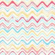 imagem do Papel de Parede Chevron Abstrato colorido/Rolo