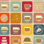 imagem do Papel de Parede Adesivo Gourmet Coffe Time /Rolo