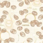 imagem do Papel de Parede Adesivo Gourmet Grãos e Marcas /Rolo