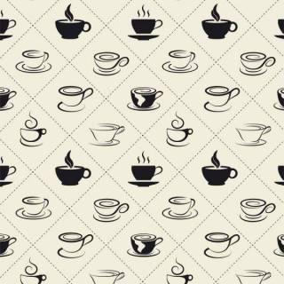 Papel de Parede Adesivo Gourmet Hora do Café /Rolo