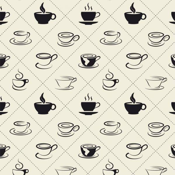 Papel de Parede Adesivo Gourmet Hora do Café /Rolo imagem 1