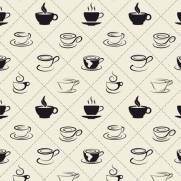 imagem do Papel de Parede Adesivo Gourmet Hora do Café /Rolo