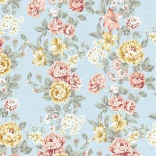 Papel de Parede Floral Vintage 2 | Adesivo Vinílico