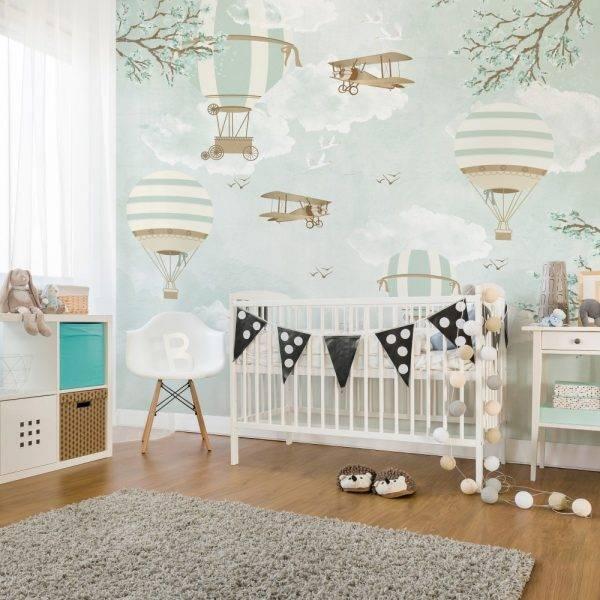 Painel Fotográfico Infantil Lúdico Balões / m² imagem 2