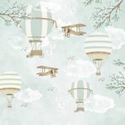 imagem do Painel Fotográfico Infantil Lúdico Balões / m²