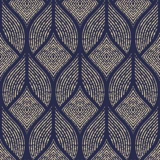 Papel de Parede Azul Marinho Geometrico | Adesivo Vinilico