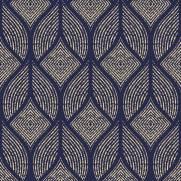 imagem do Papel de Parede Azul Marinho Geometrico | Adesivo Vinilico