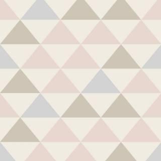 Papel de Parede Triangulo colorido | Adesivo Vinilico