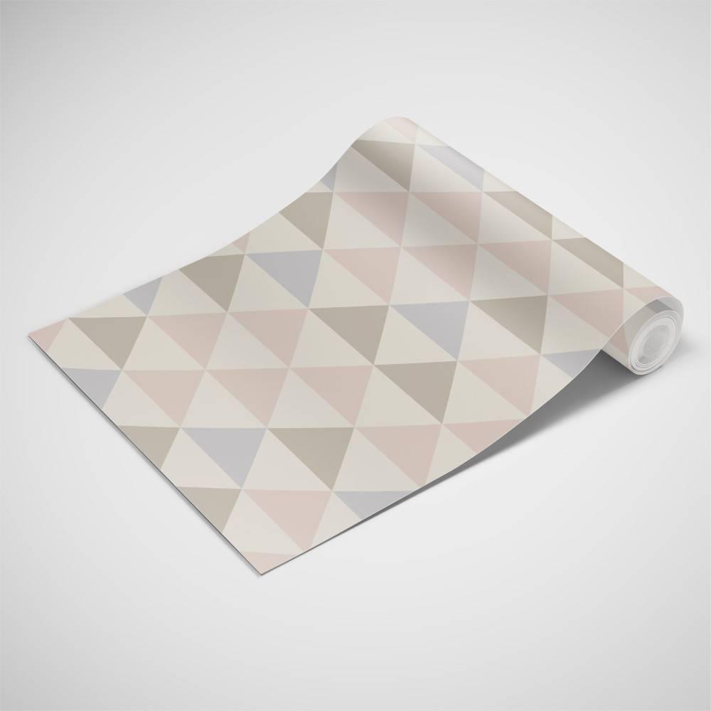 Papel de Parede Triangulo colorido | Adesivo Vinilico imagem 2