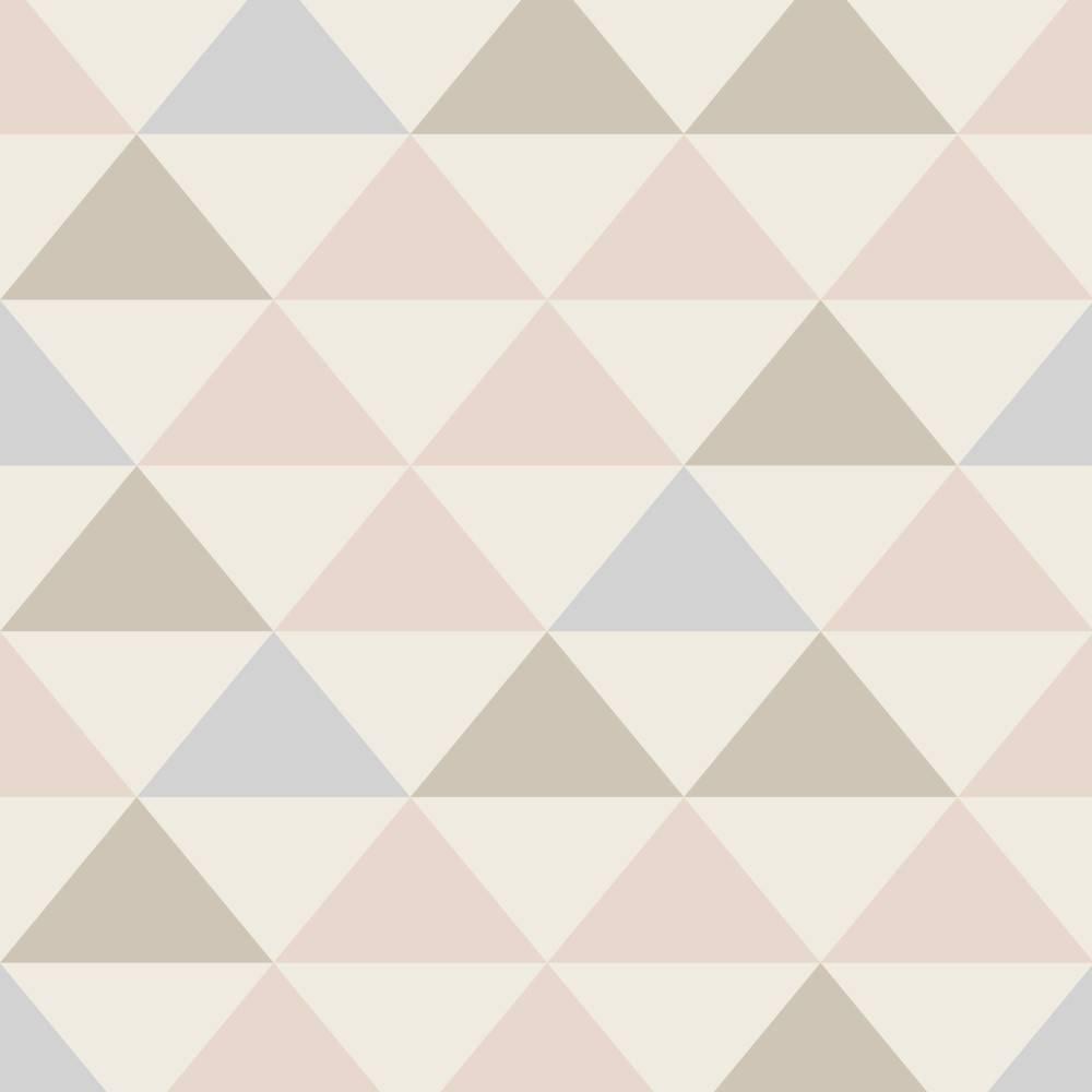 Papel de Parede Triangulo colorido | Adesivo Vinilico imagem 1