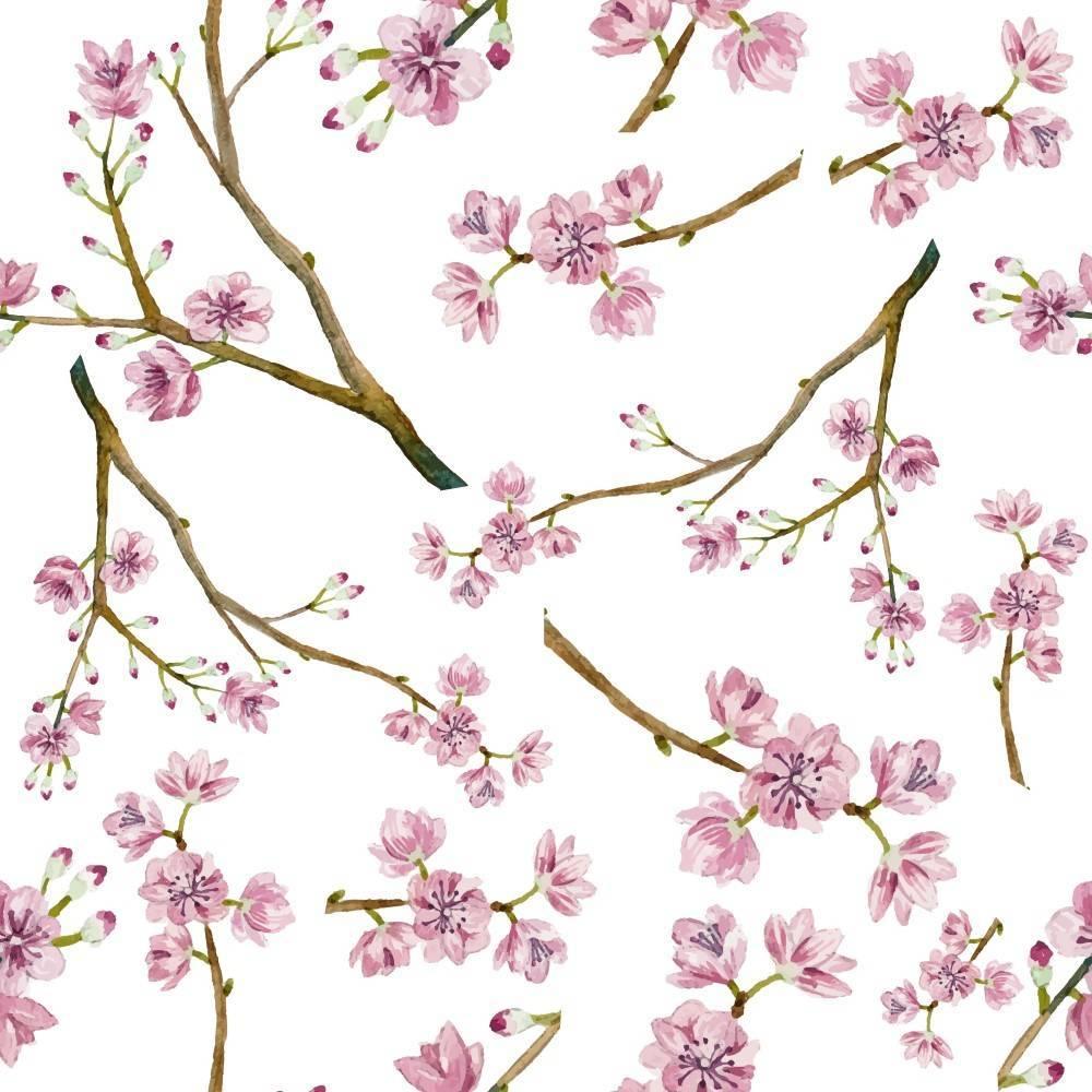 Papel de Parede Cerejeira | Adesivo Vinílico imagem 1