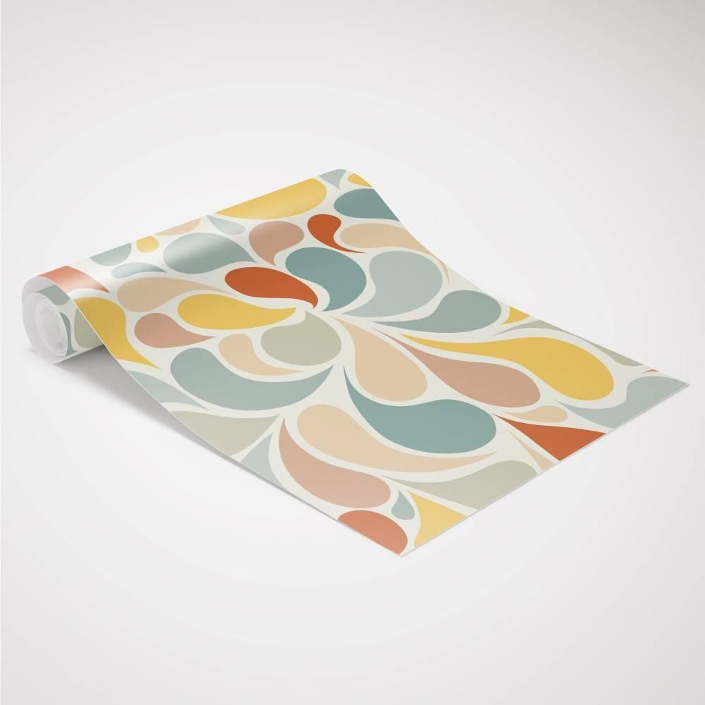 Papel de Parede Candy Colors | Adesivo Vinilico imagem 3