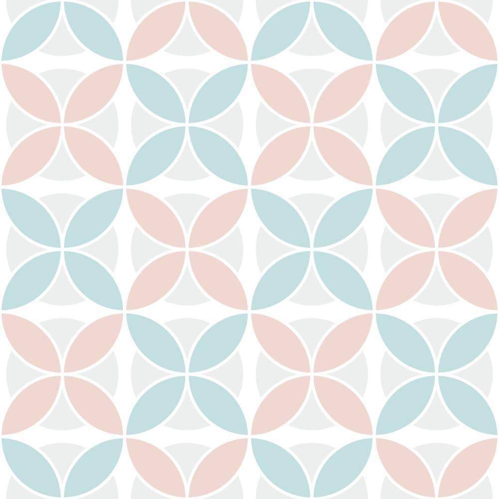 Papel de Parede Tons Pasteis | Adesivo Vinilico imagem 1