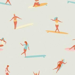 Papel de Parede Surf |Adesivo Vinilico