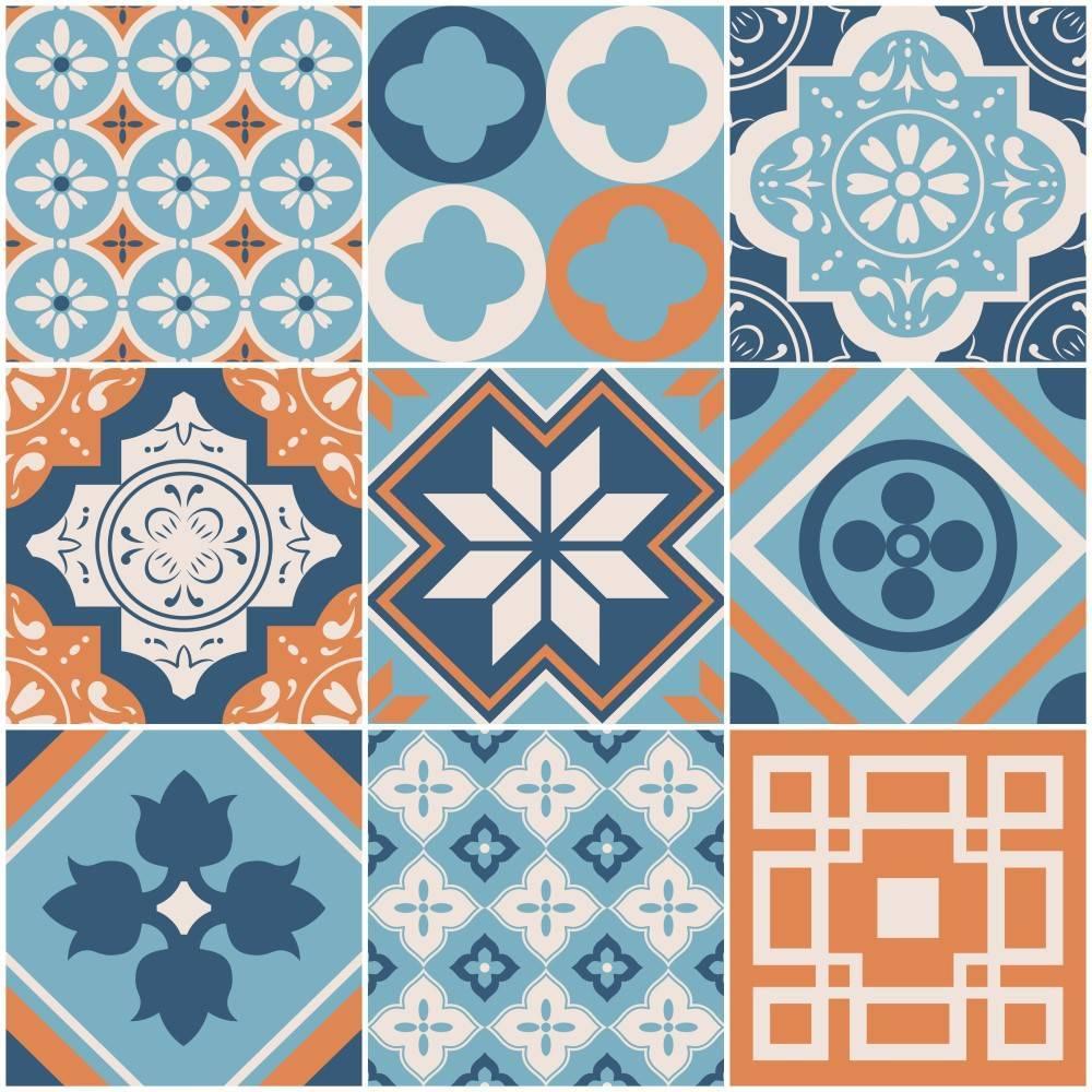 Papel de parede Adesivo Azulejo Busan  imagem 1