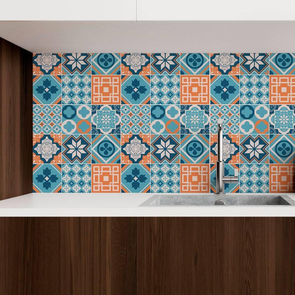 Papel de parede Adesivo Azulejo Busan  imagem 2