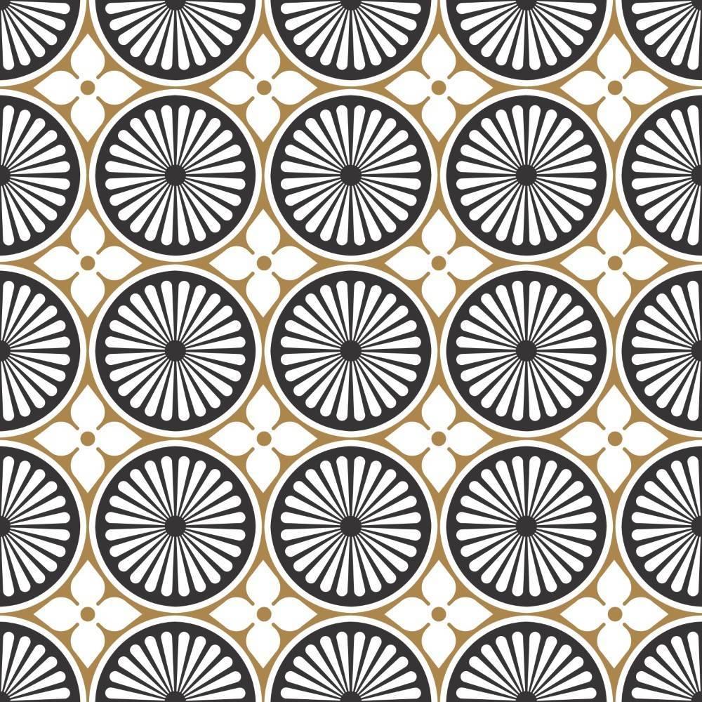 Papel de Parede Circulos | Adesivo Vinilico imagem 1
