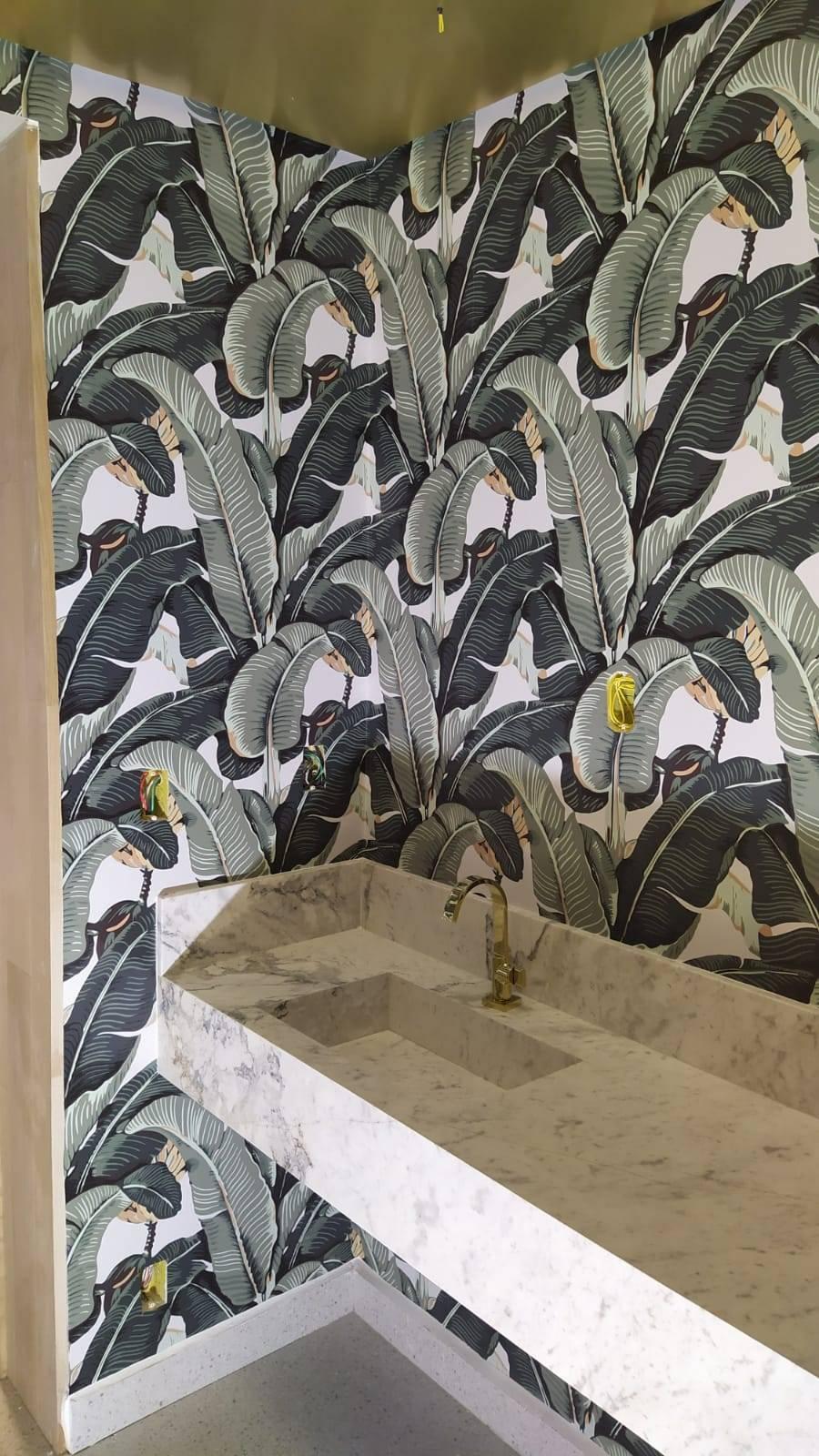 Papel de Parede Bananeira | Adesivo Vinílico imagem 2