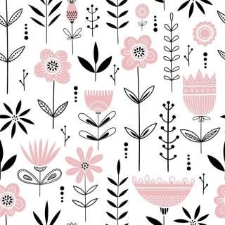 Papel de Parede Flor | Adesivo Vinílico