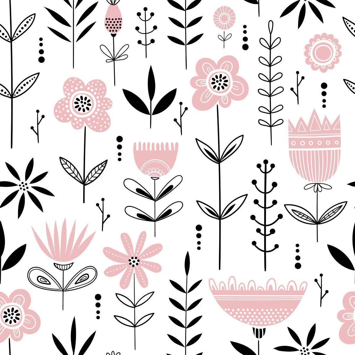 Papel de Parede Flor | Adesivo Vinílico imagem 1