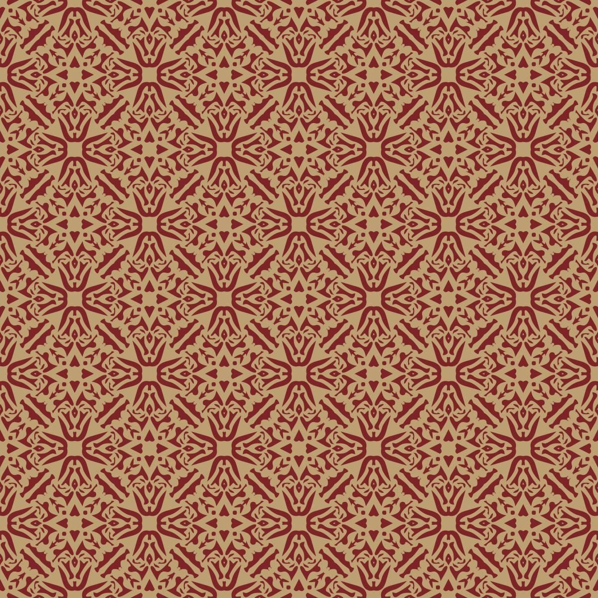 Papel de Parede Vintage Vermelho | Adesivo Vinilico imagem 2