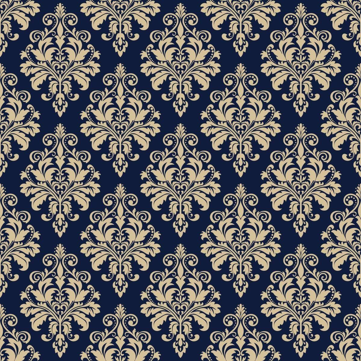 Papel de Parede Azul Marinho | Adesivo Vinilico imagem 2
