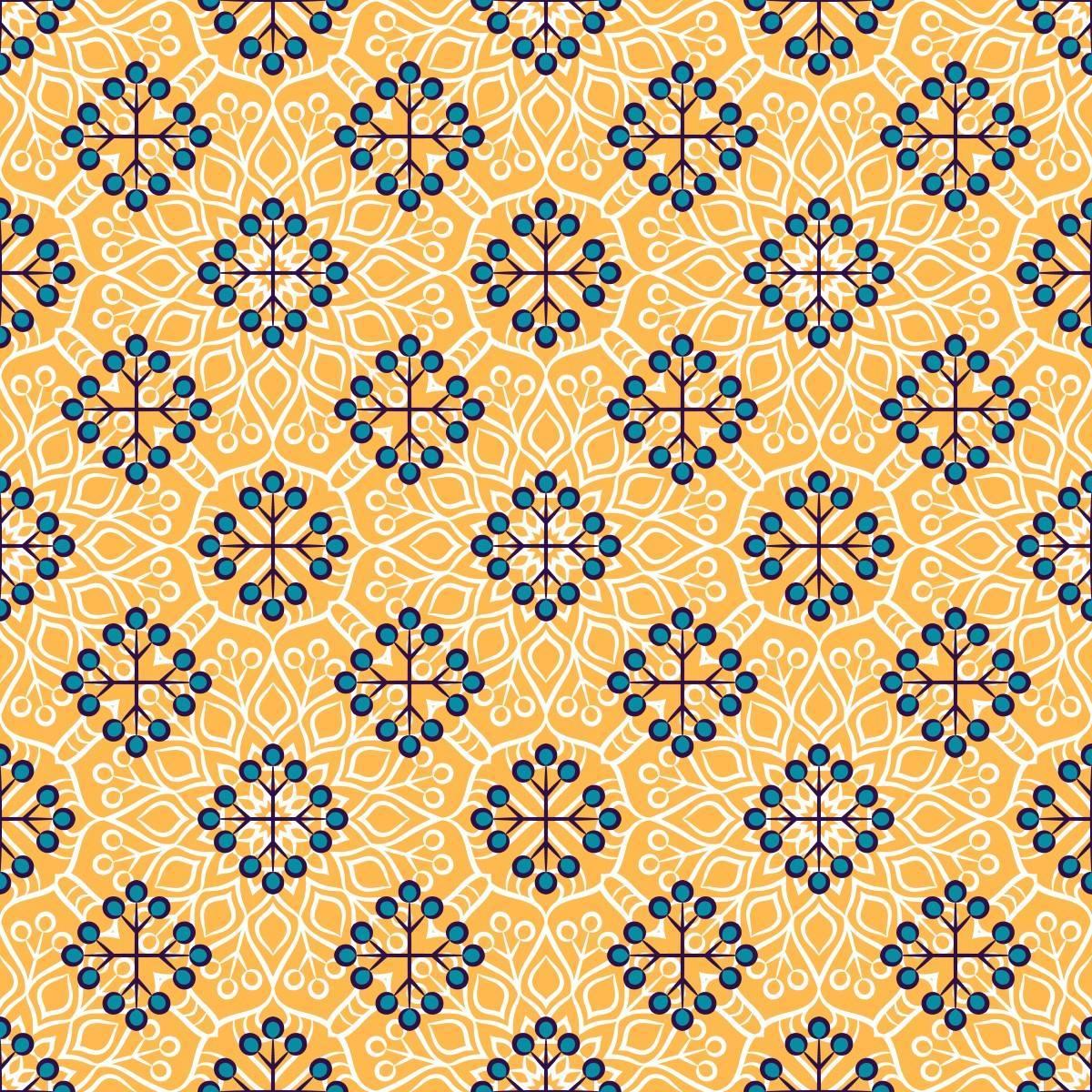 Papel de Parede Amarelo | Adesivo Vinilico imagem 2