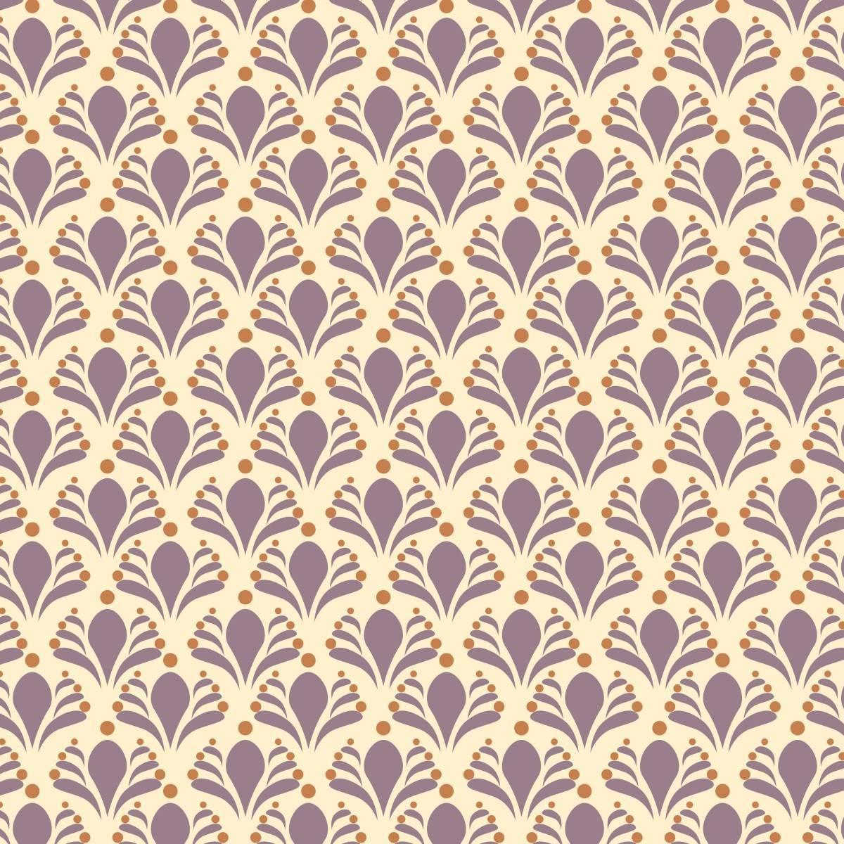 Papel de Parede Lilas Floral | Adesivo Vinilico imagem 2