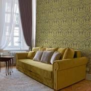 imagem do Papel de Parede Arabesco Dourado | Adesivo Vinilico